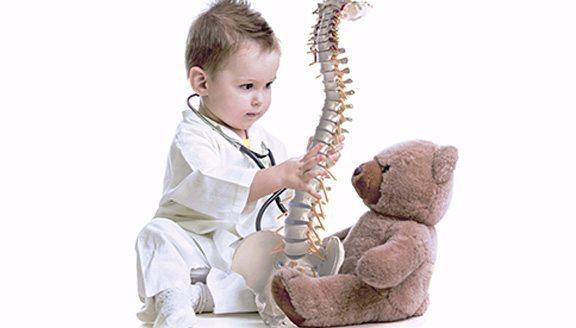 quiropráctica pediátrica