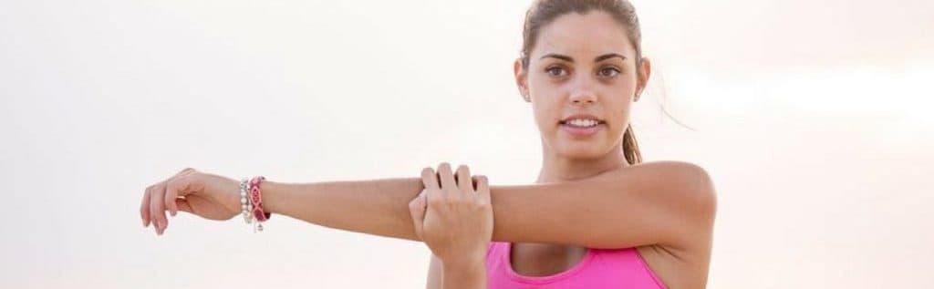 Resultado de imagen para Estiramientos de brazo