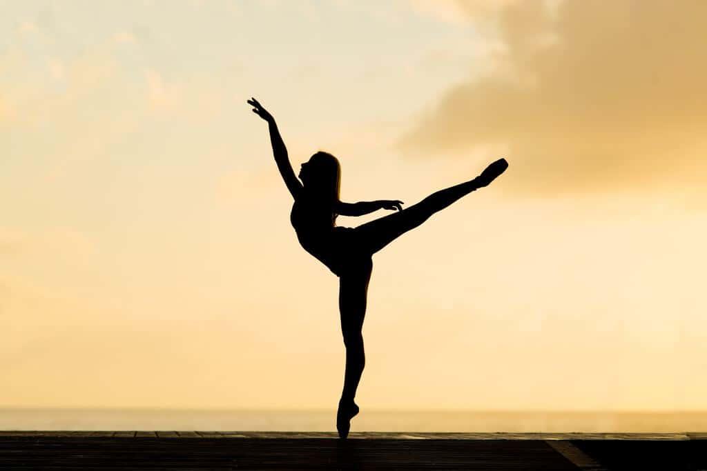 columna vertebral de la ballerina
