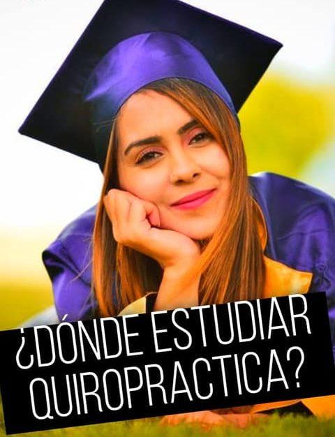 donde estudiar quiropractica
